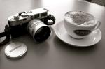 camera & cappuccino
